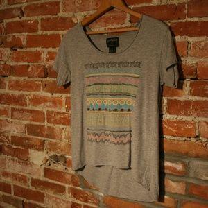 Stussy Scoop Neck Short Sleeve Printed T-Shirt